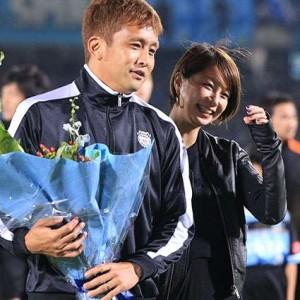 札幌の元日本代表・稲本潤一選手の美人妻、モデル・田中美保さんについて