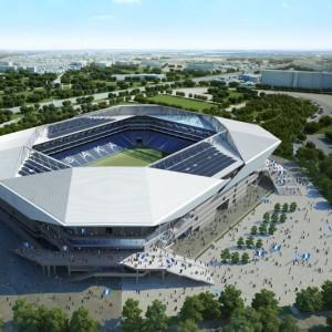 《画像》10月完成のガンバ大阪新スタジアムが公開。めちゃいい!画像と反応