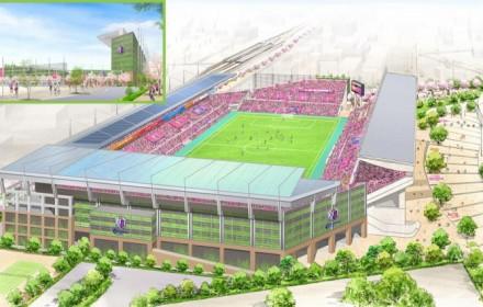 キンチョウスタジアムの改修計画「セレッソの森 スタジアム構想」を発表!画像と反応