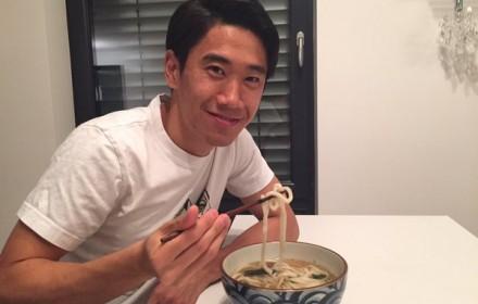 勝利の時、一年が終る時、槙野が来た時…香川真司の'うどん愛'が凄い!