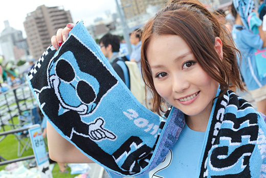 フロンターレの勝利の女神!スキフロMC 阿井莉沙さんに迫る☆ | Shooty