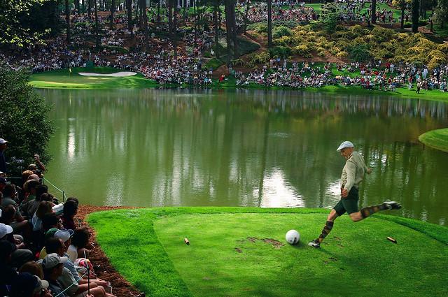 フットゴルフ堀之内選手2