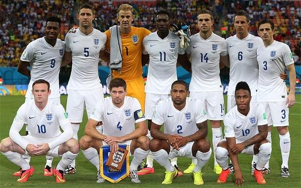 イングランド代表1