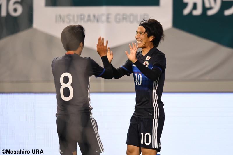 U23日本代表ガーナ戦