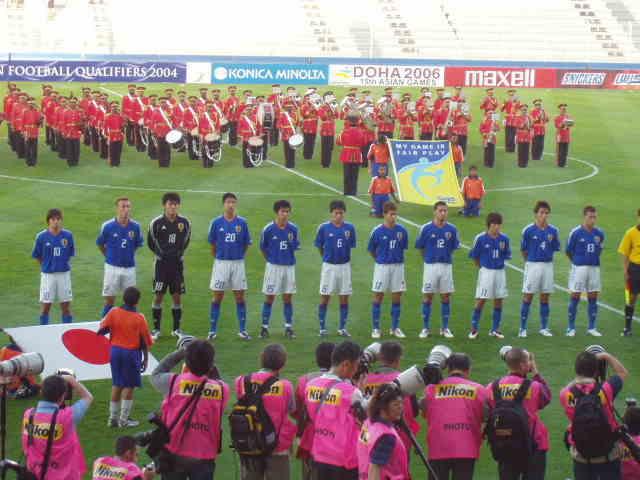 2004アテネ五輪1