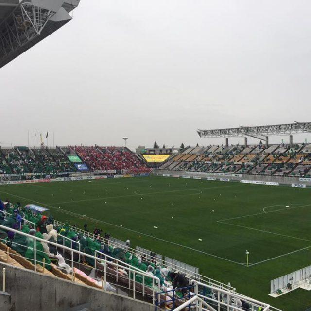信州の熱き想いとおもてなしの精神を観た!アルウィンに集結した松本山雅サポーターとスタジアム